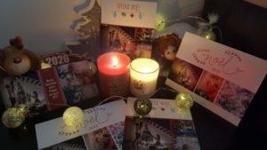Calendrier et cartes de vœux personnalisés